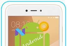 Xiaomi Redmi Note 5A Android sürümü