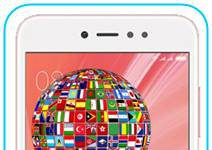 Xiaomi Redmi Note 5A Prime dil değiştirme