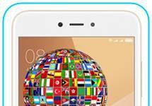 Xiaomi Redmi Note 5A dil değiştirme