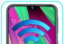 Samsung Galaxy A40 ağ ayarları sıfırlama