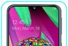 Samsung Galaxy A40 Dil Değiştirme
