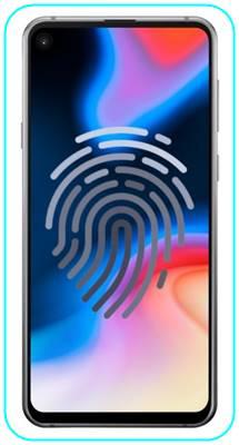 Samsung Galaxy A60 parmak izi ekleme