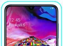 Samsung Galaxy A70 dil değiştirme