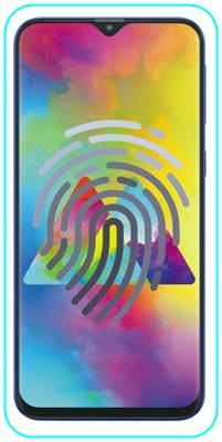 Samsung Galaxy M20 parmak izi ekleme