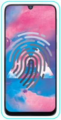 Samsung Galaxy M30 parmak izi ekleme