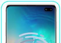 Samsung Galaxy S10 Plus parmak izi ekleme