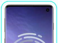 Samsung Galaxy S10 parmak izi ekleme