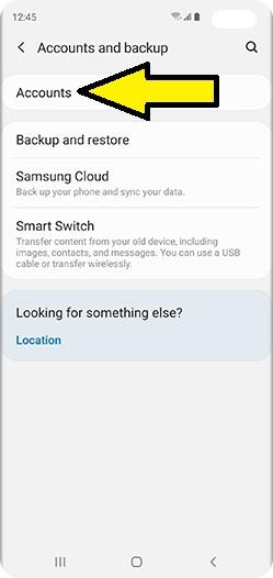Samsung veri yedekleme
