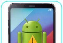 LG G6 Plus sıfırlama sonrası Gmail ekranını geçme