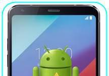 LG G6 sıfırlama sonrası Gmail ekranını geçme