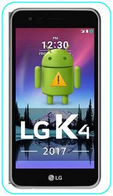 LG K4 2017 sıfırlama sonrası Gmail ekranını geçme
