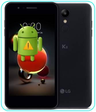 LG K8 2018 sıfırlama sonrası Gmail ekranını geçme
