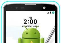 LG Stylus 2 Plus sıfırlama sonrası Gmail ekranını geçme