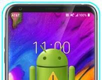 LG V35 ThinQ sıfırlama sonrası Gmail ekranını geçme