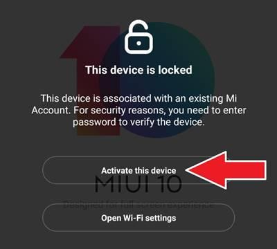 Xiaomi Mi Hesap Şifre Sıfırlama