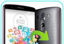 LG G3 veri yedekleme