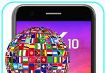 LG K10 2017 dil değiştirme