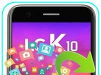 LG K10 2017 veri yedekleme