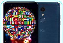 LG K10 2018 dil değiştirme