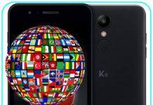 LG K9 dil değiştirme