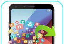 LG Q6 Plus veri yedekleme