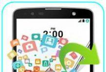 LG Stylus 2 Plus veri yedekleme