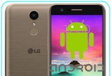 LG K10 2017 Android sürümü