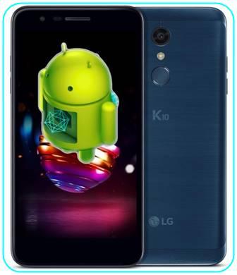 LG K10 2018 güncelleme