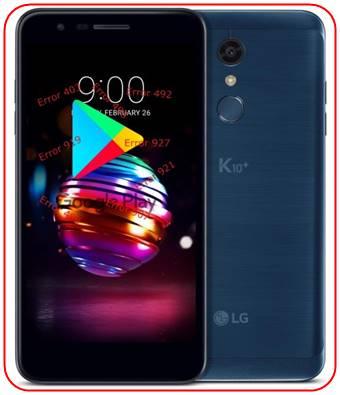 LG K10 Plus 2018 Google Play Store sorunları