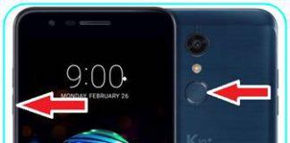 LG K10 Plus 2018 ekran görüntüsü
