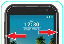 LG K3 2017 ekran görüntüsü
