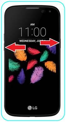 LG K3 ekran görüntüsü