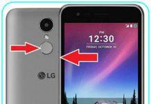 LG K4 2017 ekran görüntüsü