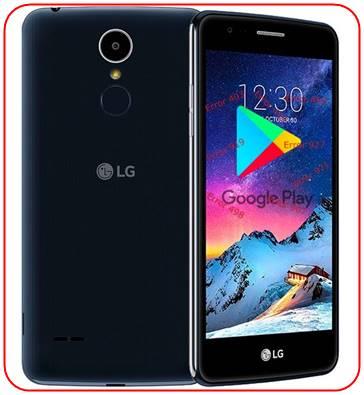 LG K8 2017 Google Play Store sorunları