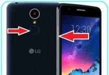 LG K8 2017 ekran görüntüsü