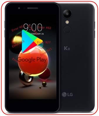 LG K8 2018 Google Play Store sorunları