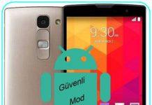 LG Magna güvenli mod