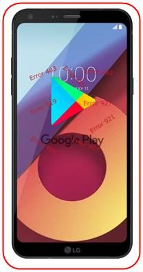 LG Q6 Google Play Store sorunları