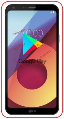 LG Q6 Plus Google Play Store sorunları