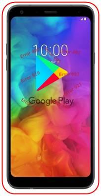 LG Q7 Plus Google Play Store sorunları