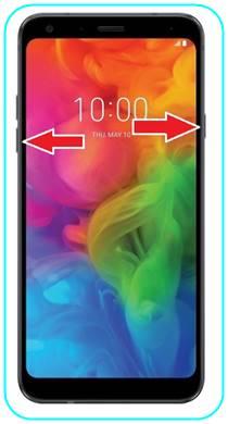 LG Q7 ekran görüntüsü
