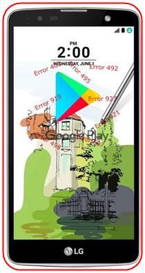 LG Stylus 2 Plus Google Play Store sorunları