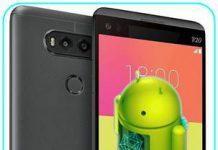 LG V20 güncelleme