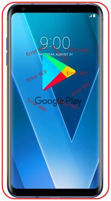 LG V30 Google Play Store sorunları