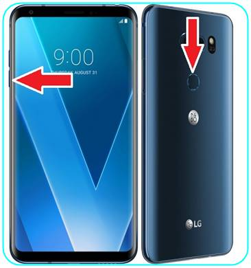 LG V30 ekran görüntüsü