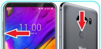 LG V35 ThinQ ekran görüntüsü