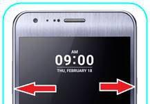 LG X Cam ekran görüntüsü