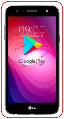 LG X Power 2 Google Play Store sorunları