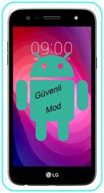 LG X Power 2 güvenli mod