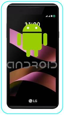 LG X Style Android sürümü